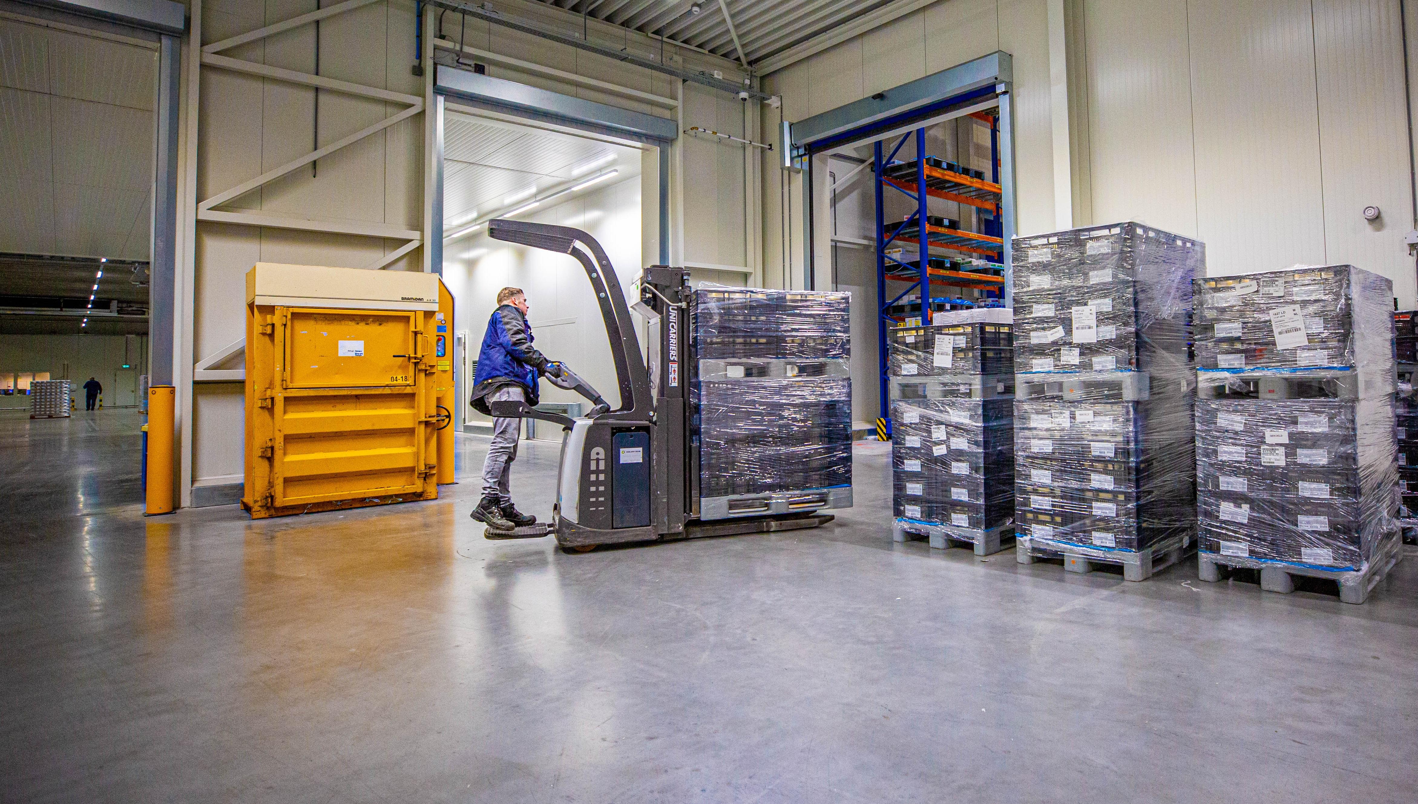 Grote bedrijven ondersteunen in logistieke processen